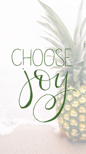 choose joy phone wallpaper pineapple2