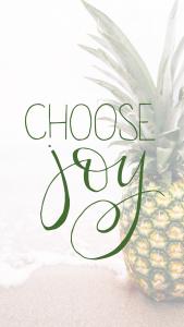 choose joy phone wallpaper pineapple2